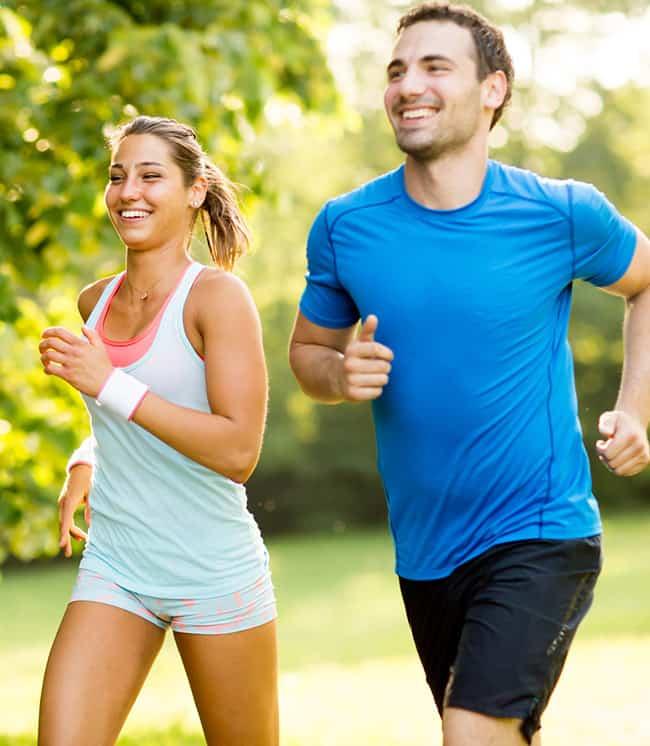 Employee Health Jogging